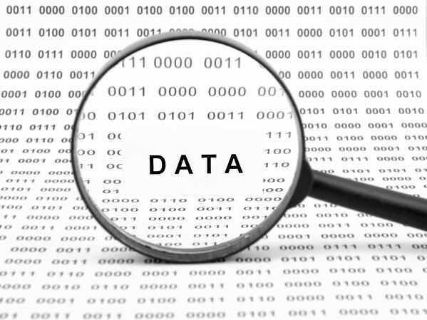 Data under magnifying glass