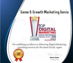 Game & Growth Marketing Genie Award 2