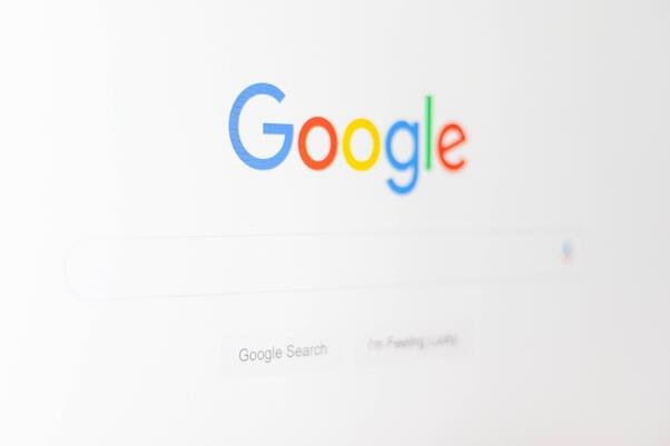 Google search homepage