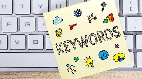 Keywords yellow note