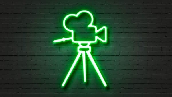 Neon video camera