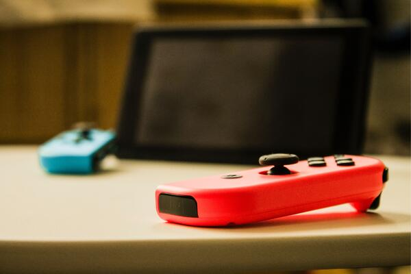 Nintendo Switch and Joy Cons