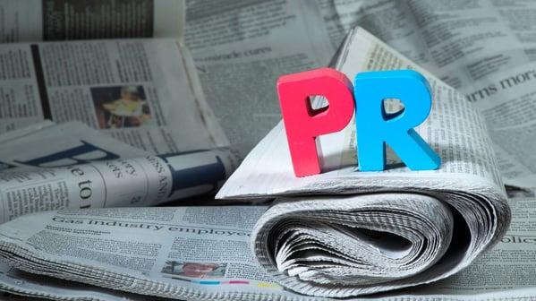 Pr on newspapers