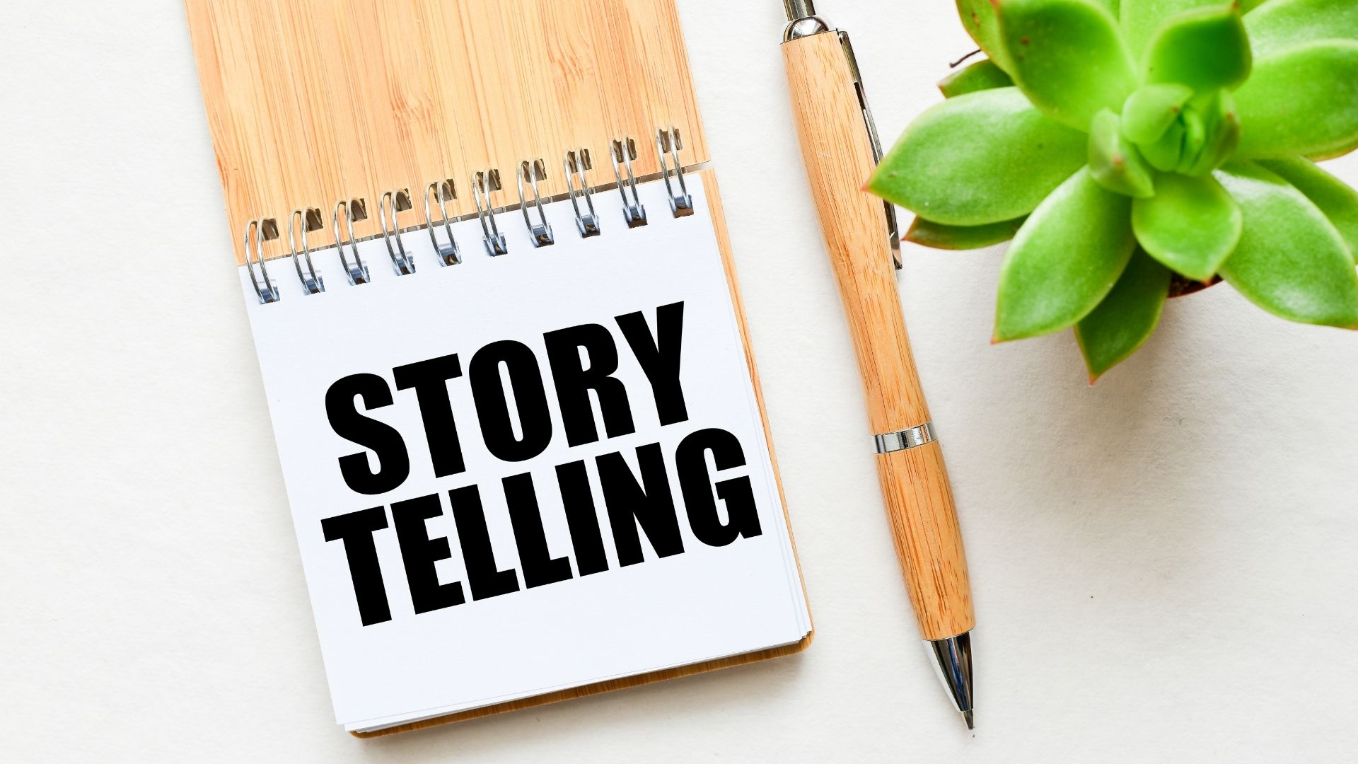 Story telling on a notepad